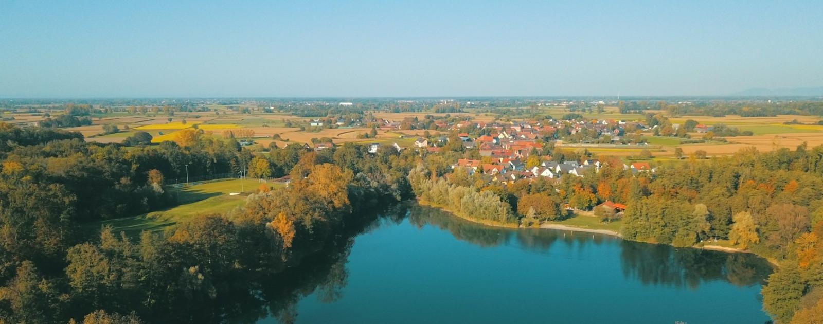 Luftaufnahme Hesselhurst von Matthias Müll