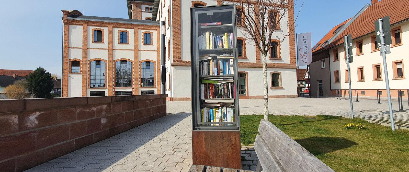 Offener Bücherschrank Gemeinde Willstätt