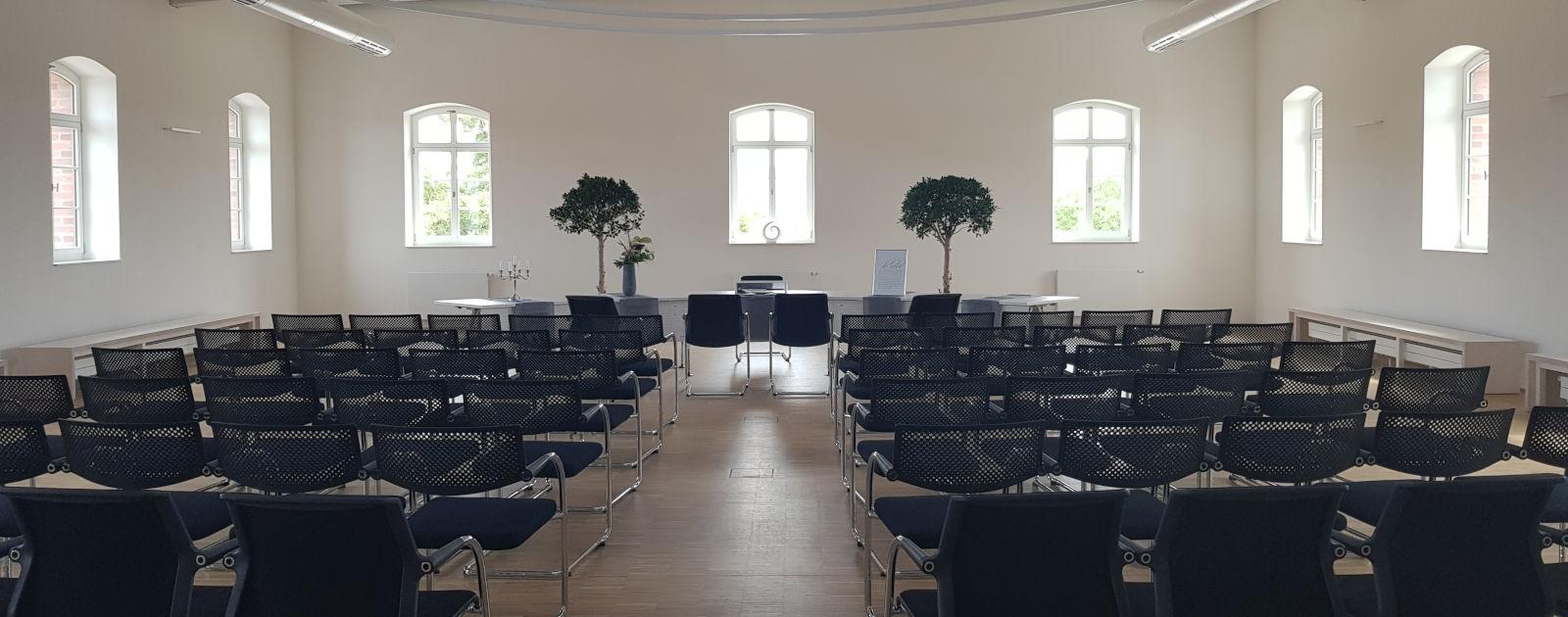 Bestuhlung Bürgersaal Willstätt Trauung