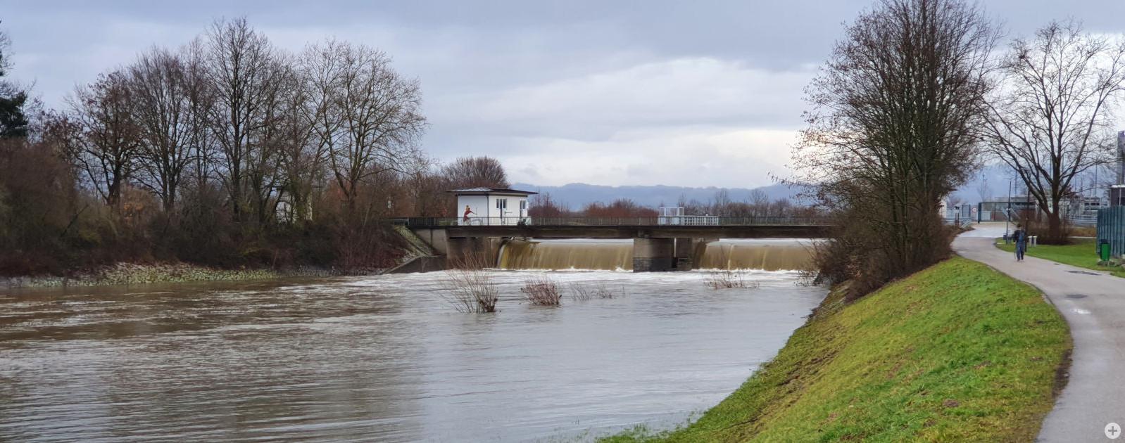 Hochwasser 2021 Kinzig Willstätt