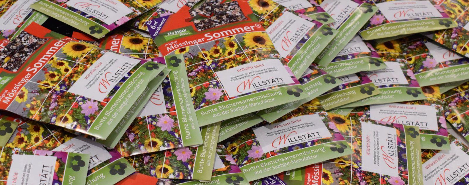 Samentütchen für Sommerblumen