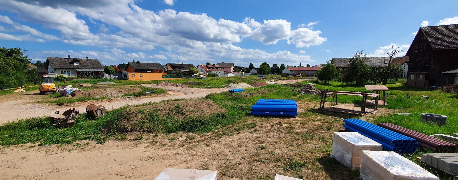 Erschließung Baugebiet Löhl Legelshurst