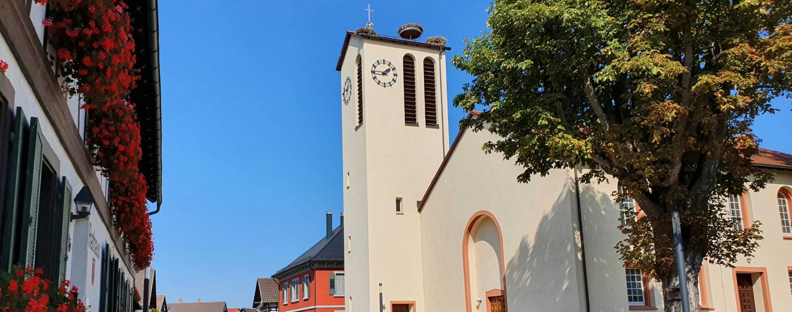 Kirche in Eckartsweier