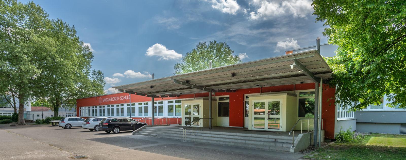 Außenansicht Moscherosch-Schule Willstätt