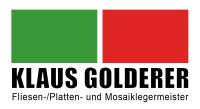 Logo Klaus Golderer // Fliesen-, Platten- Mosaiklegermeister
