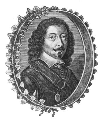 Portrait Johann Michael Moscherosch