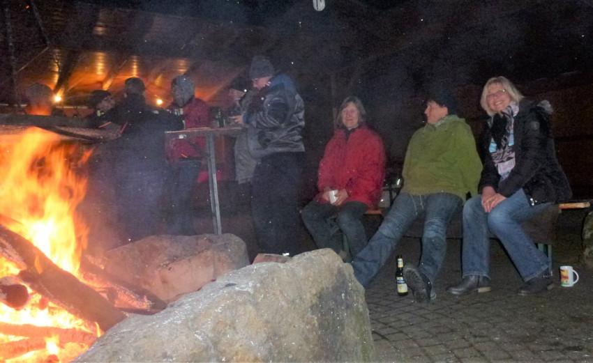 Waldspeck auf dem Hesselhurster Grillplatz
