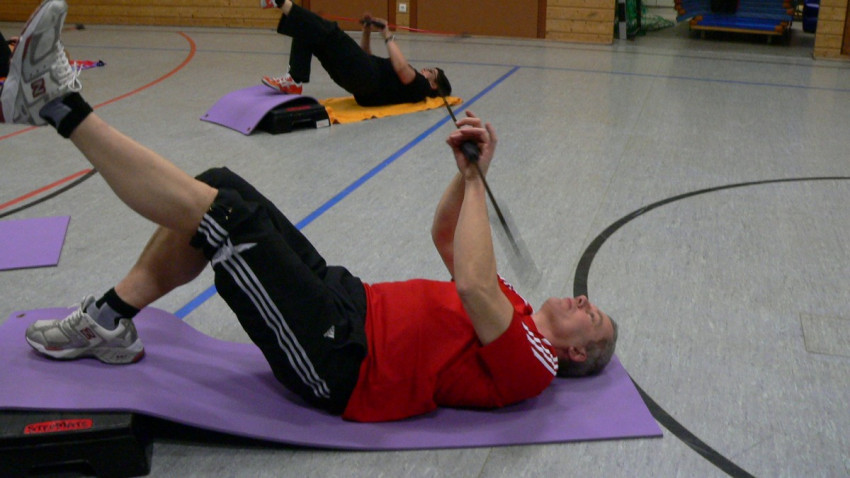 Gymnastik mit dem Flexibar