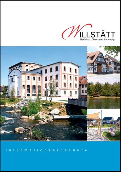 Titelseite Infobroschüre Gemeinde Willstätt